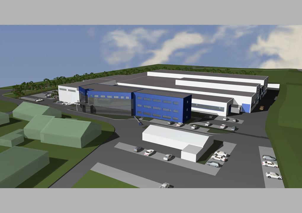 Architekt Erlangen daniel sailer erweiterungsstudie 2012 industriegebäude erlangen