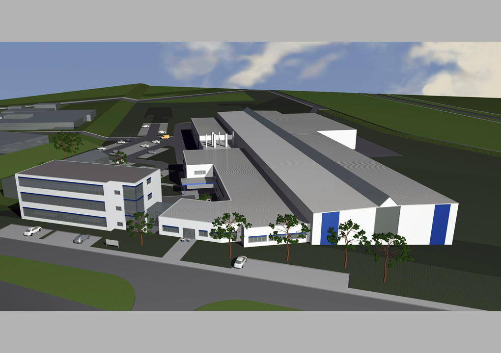 erweiterungsstudie 2012, industriegebäude heilbronn, daniel sailer, freier architekt, heilbronn