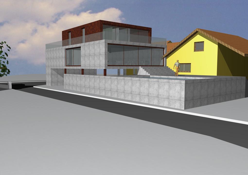 daniel sailer projekt 2011 wohnhaus zaberfeld architektur. Black Bedroom Furniture Sets. Home Design Ideas