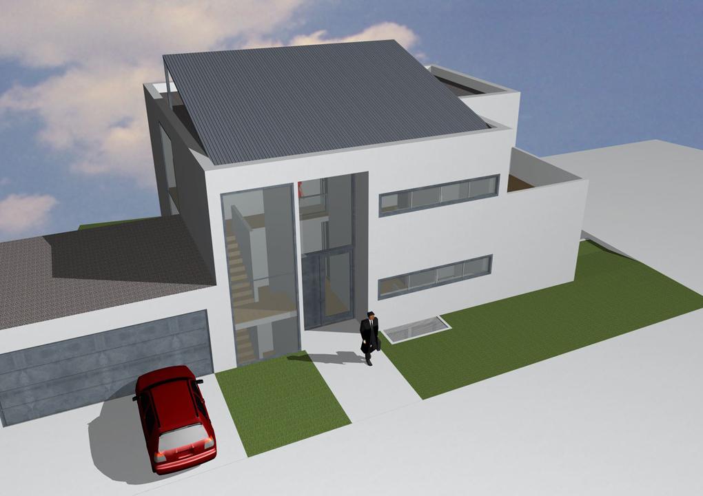 wettbewerb 2011, wohnhaus heilbronn ost, daniel sailer, freier architekt, heilbronn